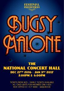 Bugsy Malone Handbill