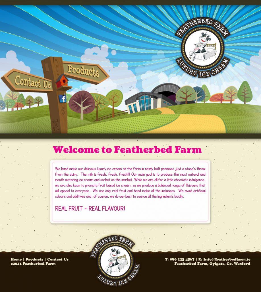 Featherbed Farm Website