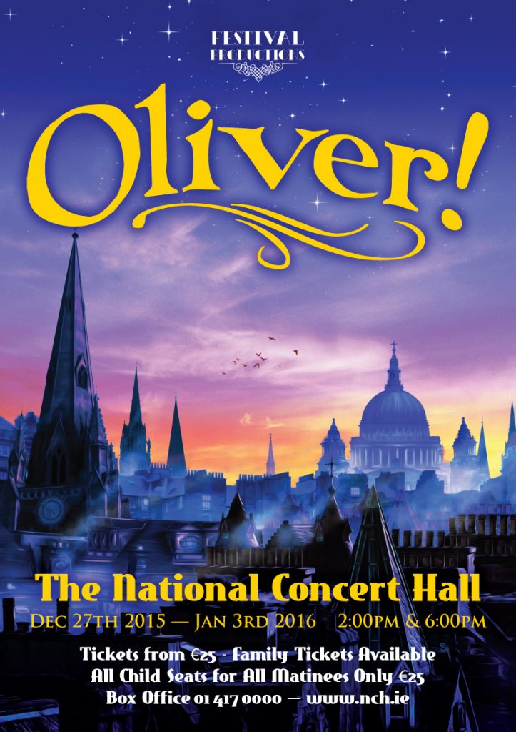 Oliver! Logo & Graphics - Client: Festival Productions